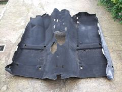 MAZDA MX5 EUNOS (MK2 1998 - 2005) FLOOR CARPET - BLACK - MAIN FLOOR SECTION ONLY